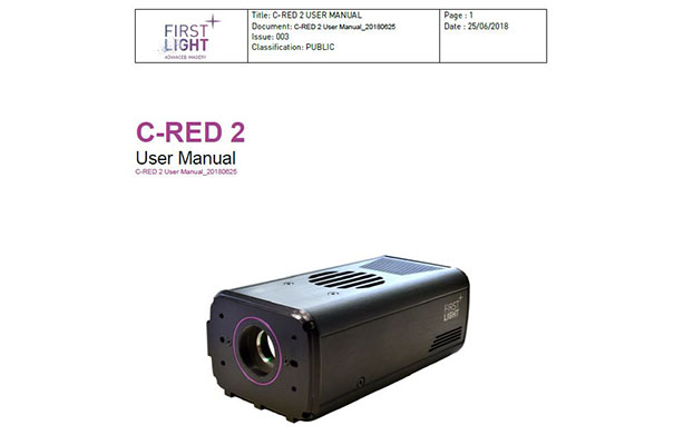 C-RED 2 USER MANUAL