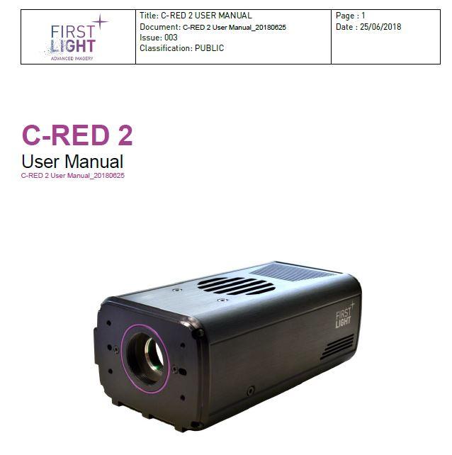 C-RED 2 USER MANUAL