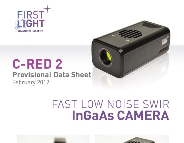 C-RED 2: NEW PROVISIONAL DATASHEET AND PERFORMANCES