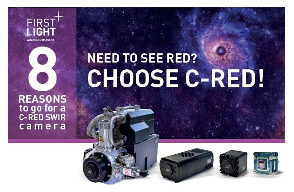 8 REASONS TO CHOOSE A C-RED SWIR CAMERA