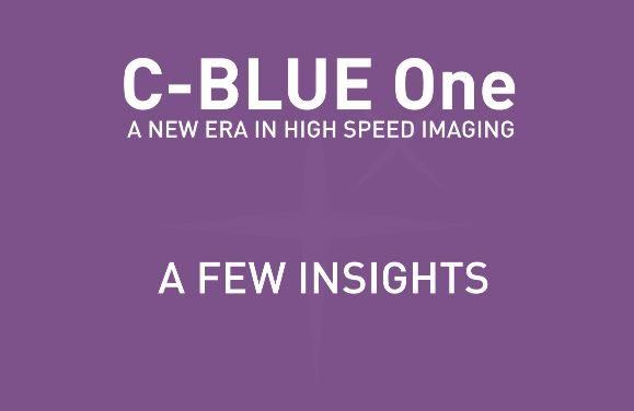 C-BLUE One – INTRO FOR SPIE ASTRO
